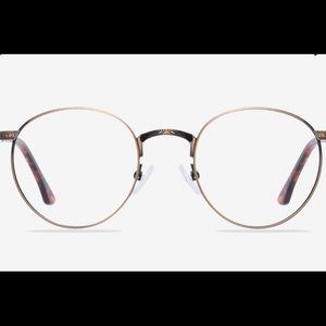 Bronze Round Glasses